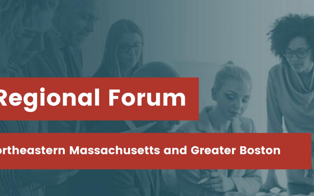 Parity on Board Regional Forum: Northeastern MA and Greater Boston